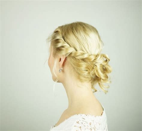 easy diy prom hairstyle for girls with short to medium