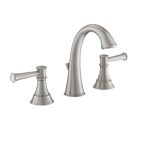 kitchen faucet companies shop moen ashville spot resist brushed nickel microban 2
