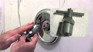 How To Repair A Moen Shower  Tub Valve
