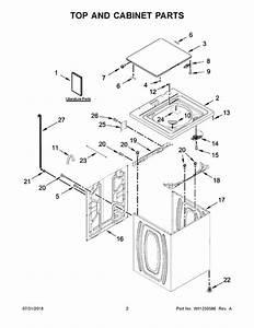 Whirlpool Wtw4850hw1 Parts List
