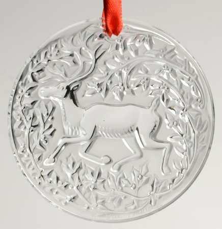 lalique lalique christmas ornament at replacements ltd