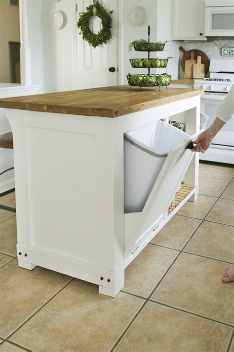 kitchen island with trash storage 12 ideas to bring sophistication to your kitchen island