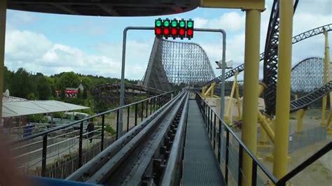 rollercoaster desert race heide park soltau youtube