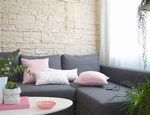 Salon Gris Et Rose : d co salon rose pale ~ Preciouscoupons.com Idées de Décoration