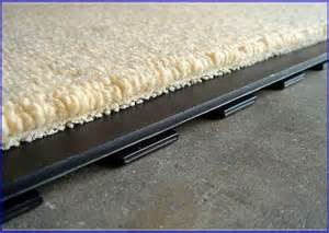fashionable basement carpet tiles option