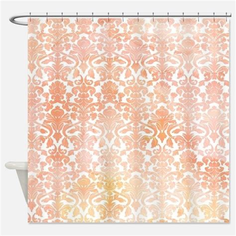 pattern floral coral shower curtains pattern floral