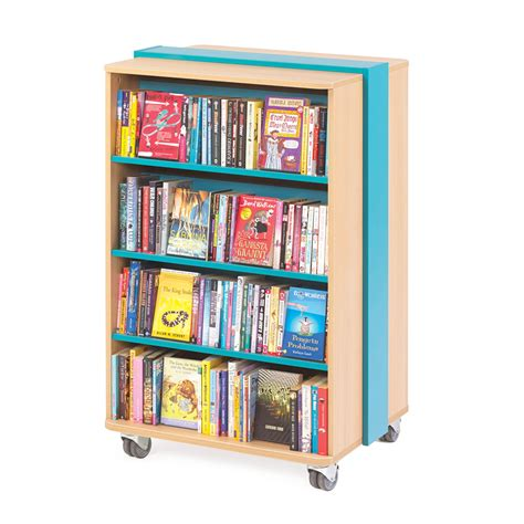 Mobile Bookcase  Bestsellers School Library Furniture