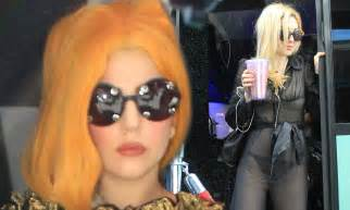 Bid Sheer Internet Voting Kitty Gaga Sends Out A Lookalike In Purple Outfit Bid To