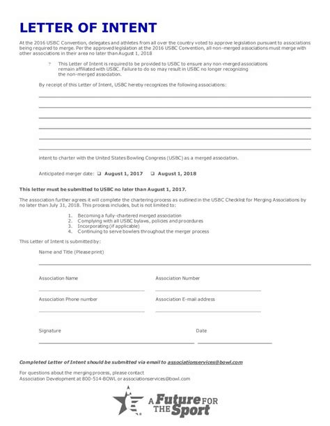 Writing A Letter Of Intent Tips Amp Template Free