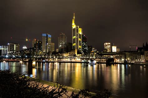 night time city scape  water photo  image peakpx