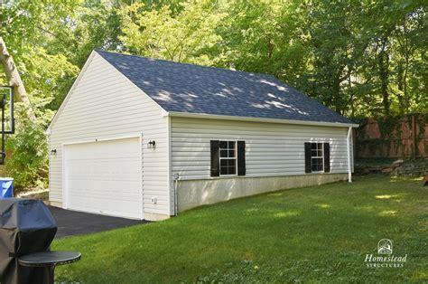 2 Car Garages   Homestead Structures