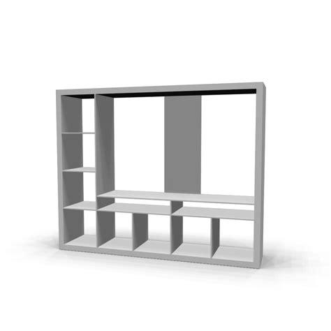 Ikea Tv Möbel Weiss expedit tv m 246 bel wei 223 einrichten planen in 3d
