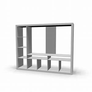 Ikea Möbel Regale : expedit tv m bel wei einrichten planen in 3d ~ Michelbontemps.com Haus und Dekorationen