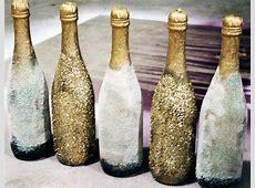 Glitter Champagne Bottles Happily Hughes