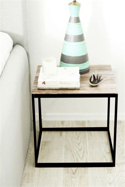 Ikea Bedroom Table by 21 Ikea Nightstand Hacks Your Bedroom Needs Via Brit Co