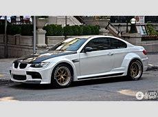 Vorsteiner GTRS3 Widebody BMW E92 M3 Spotted in Canada
