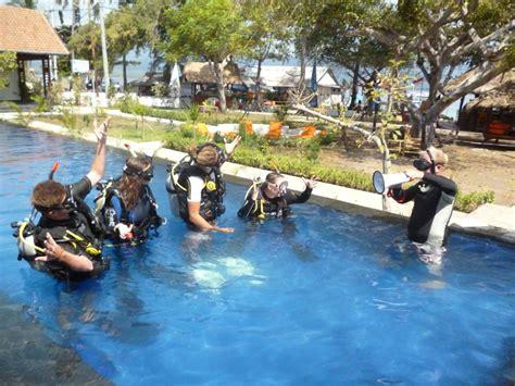 Lombok Dive Resort Padi Instructor Course Gilis By Dive Resort Oceans 5 Gili Air