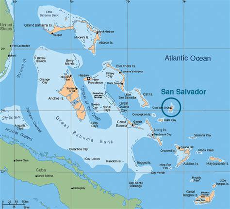 Exuma Island Bahamas Map
