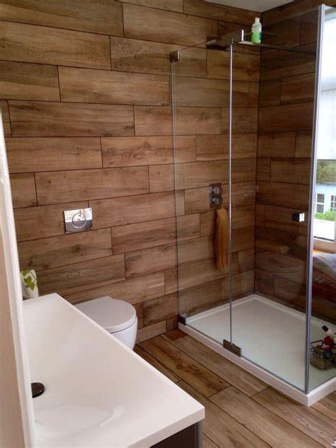 bathroom  home wood effect porcelain tiles