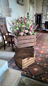 Crate, Flowers
