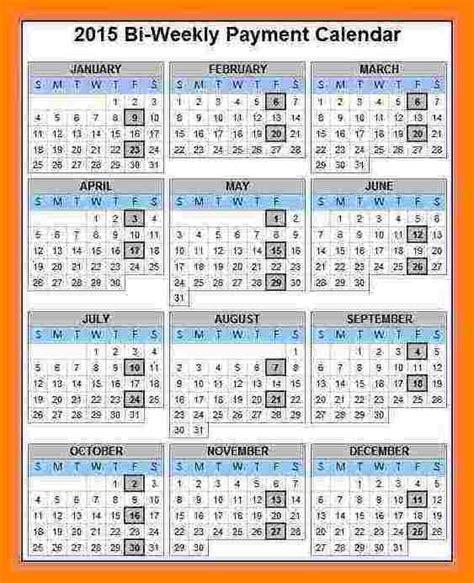 bi weekly payroll calendar samples paystubs