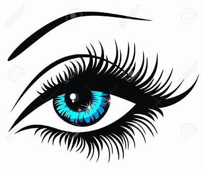 Clipart Lashes Eye Eyelash Vector Illustration Eyelashes