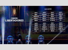 Sorteo espectacular de la Copa Libertadores 2018 AScom