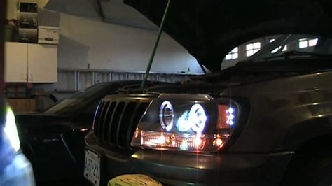 how to install hid headlights on your car 1999 2004 jeep