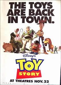 Toy Story (1995) - (Tom Hanks) 40x60 Bus stop advance ...