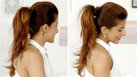 ponytail trick   add volume   ponytail quick