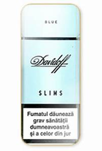 Buy Davidoff Slims Blue online for USA and Canada customers!