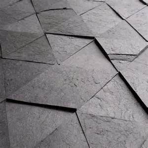 recycled scrap paper laminate used to tiles that look like slate hometone