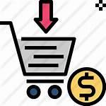 Icon Purchase Comprar Icons Premium Icono Kauf