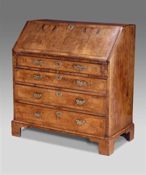 bureau secretaire antique walnut bureau georgian bureau walnut desk