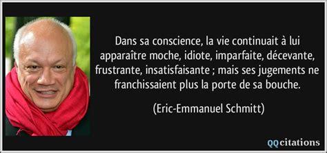 Eric Emmanuel Vie Privã E by Dans Sa Conscience La Vie Continuait 224 Lui Appara 238 Tre
