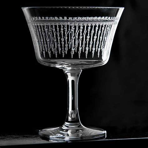 vintage cocktail retro fizz 1920 cocktail glass 6 75oz urban bar us