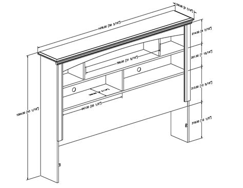 woodwork plans bookshelf headboard  plans homes