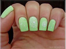 Matching Manicures Green nails MoYou London Pro XL 06