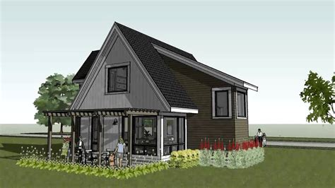 cottage plans modern cottage house plans small modern house plan