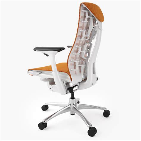 top 5 best ergonomic office chairs 3d model max obj fbx