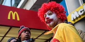 McDonald's workers protesting sexual harassment complaints ...