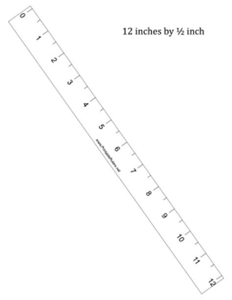 ruler      printable ruler
