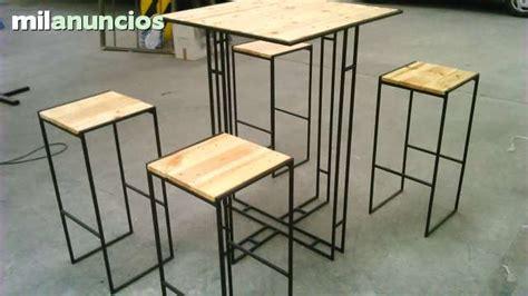 muebles de madera reciclada  hierro milanuncios