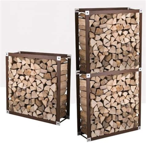 fireplace wood holder wbox firewood holders modern fireplace accessories