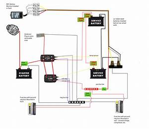Wiring Diagram For Ctek Dc  Dc Charger And Bm1 Battery
