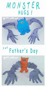 Father's Day Card - A Monster Hug