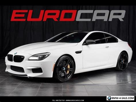 Bmw M6 Msrp 2016 bmw m6 competition 170 195 00 msrp for sale in canada