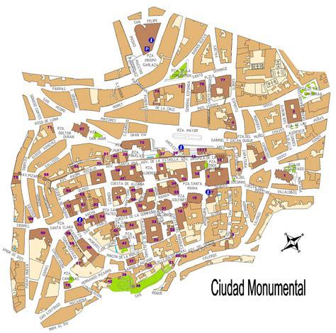 coria caceres mapa plano callejero coria caceres solo otra idea de imagen