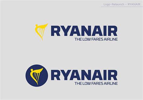 ryanair logo relaunch  behance