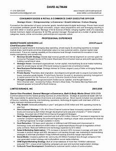 david altman consumer goods retail omni channel e With ecommerce resume sample